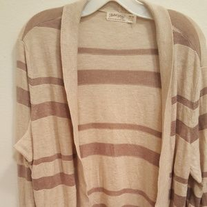 Faded glory XXL 20 cardigan tan